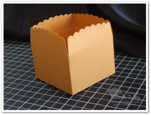 die cut box