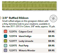 Ruffled Ribbon Share