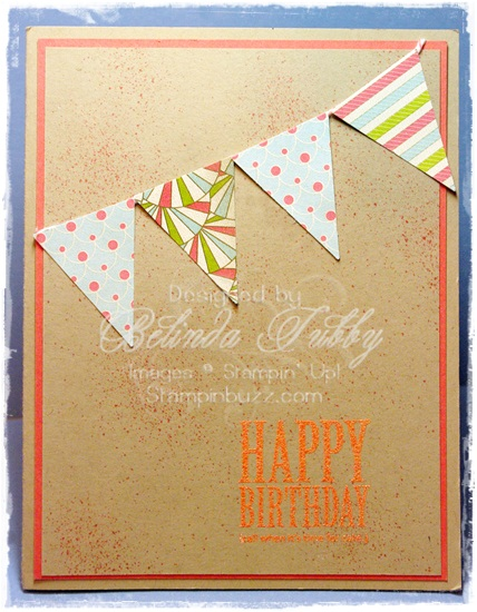 Petite Pennants Builder Punch