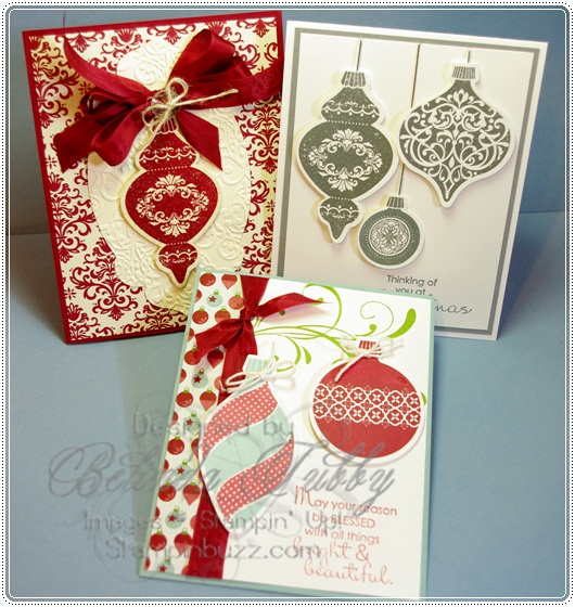 October Stamp Set of the Month - Ornament Keepsakes