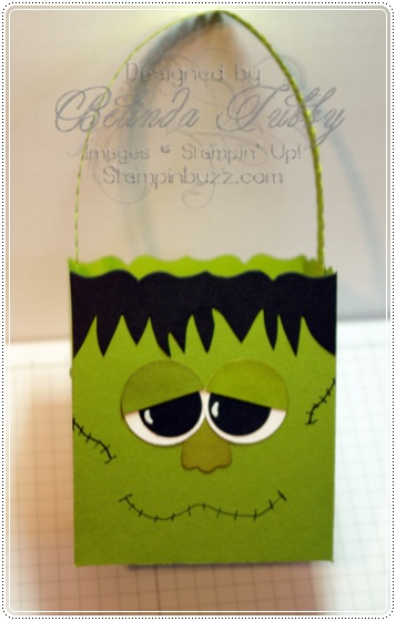 frankenstein fancy favor box