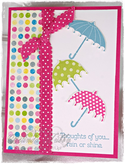 Rain or Shine from Stampin up